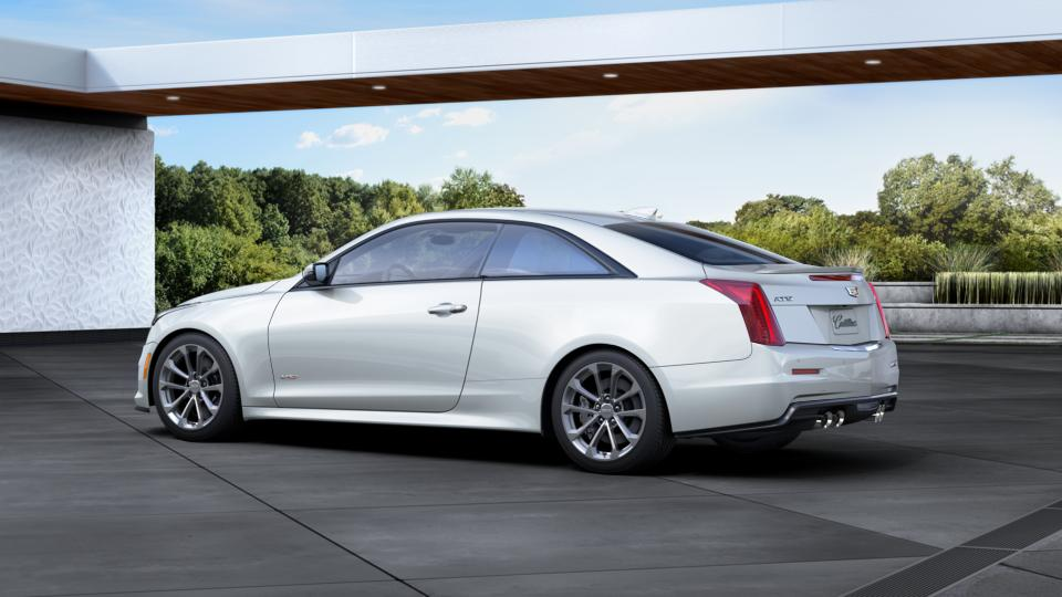 mobile crystal white tricoat 2016 cadillac ats v coupe new car for sale c2509. Black Bedroom Furniture Sets. Home Design Ideas
