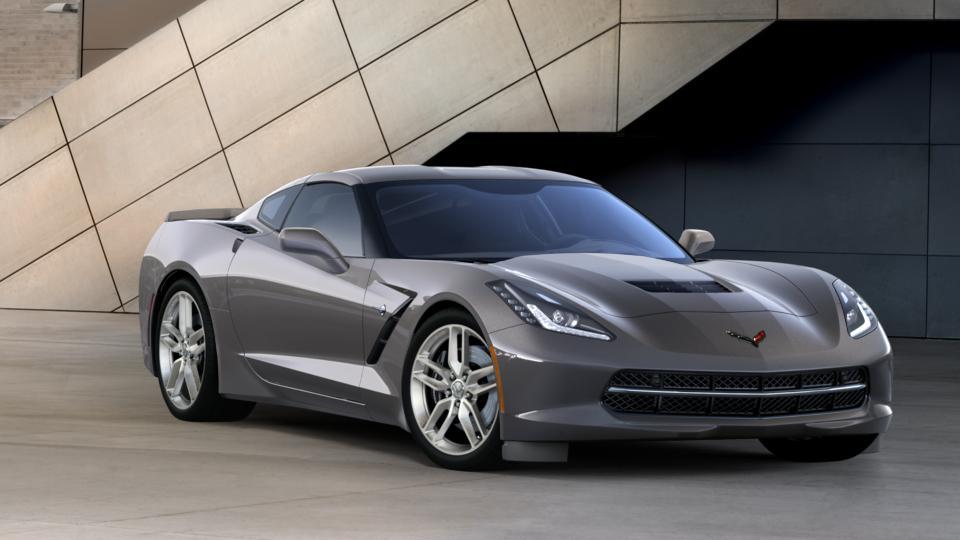 Certified 2016 Chevrolet Corvette Gray Car For Sale From