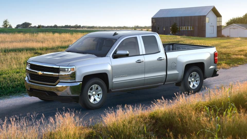 new 2017 radiant silver metallic chevrolet silverado 1500 double cab standard box 2 wheel drive. Black Bedroom Furniture Sets. Home Design Ideas