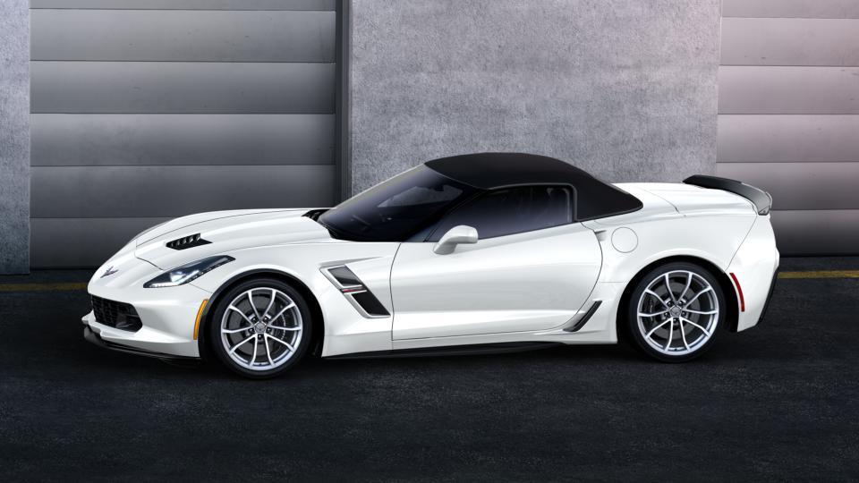 new car 2017 arctic white chevrolet corvette grand sport. Black Bedroom Furniture Sets. Home Design Ideas
