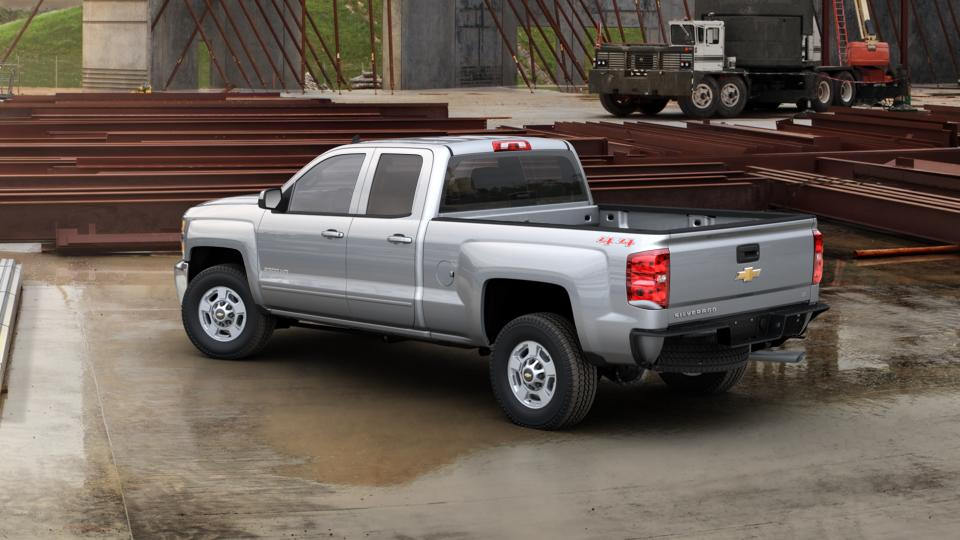 new silver ice metallic gray 2017 chevrolet silverado 2500hd double cab standard box 4 wheel. Black Bedroom Furniture Sets. Home Design Ideas