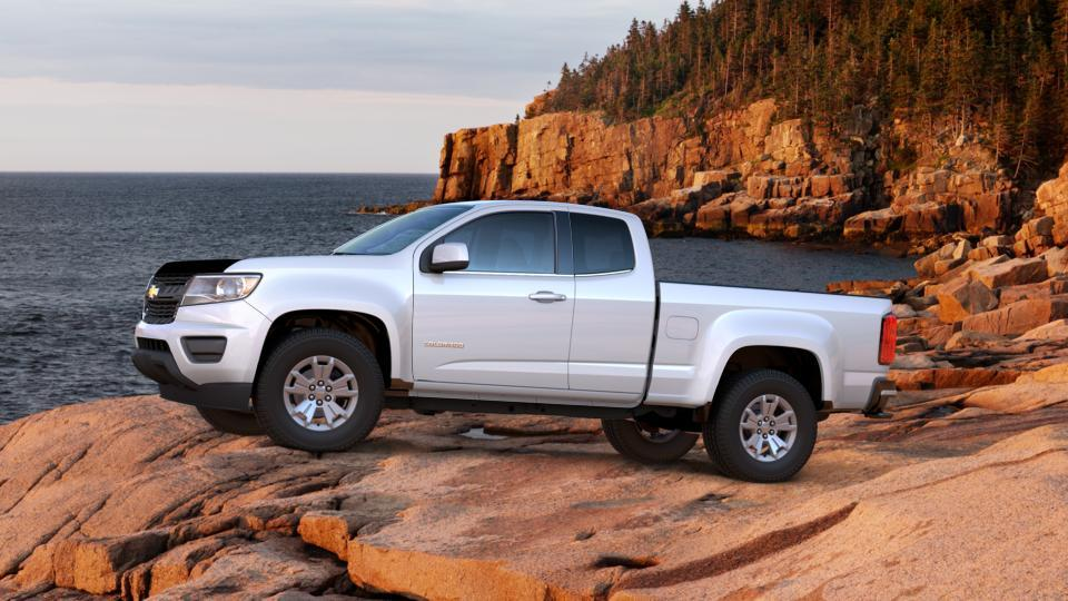 New Summit White 2017 Chevrolet Colorado Extended Cab Long