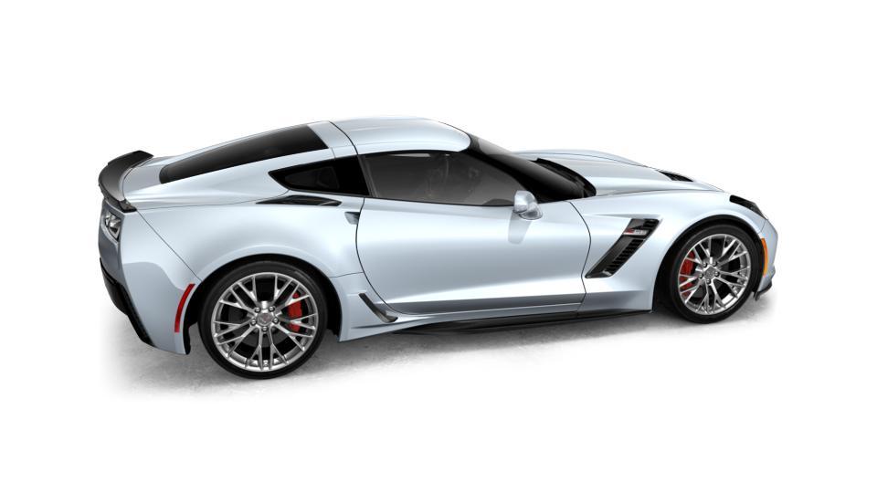 2018 Chevrolet Corvette Coupe Z06 1lz Ceramic White 2d