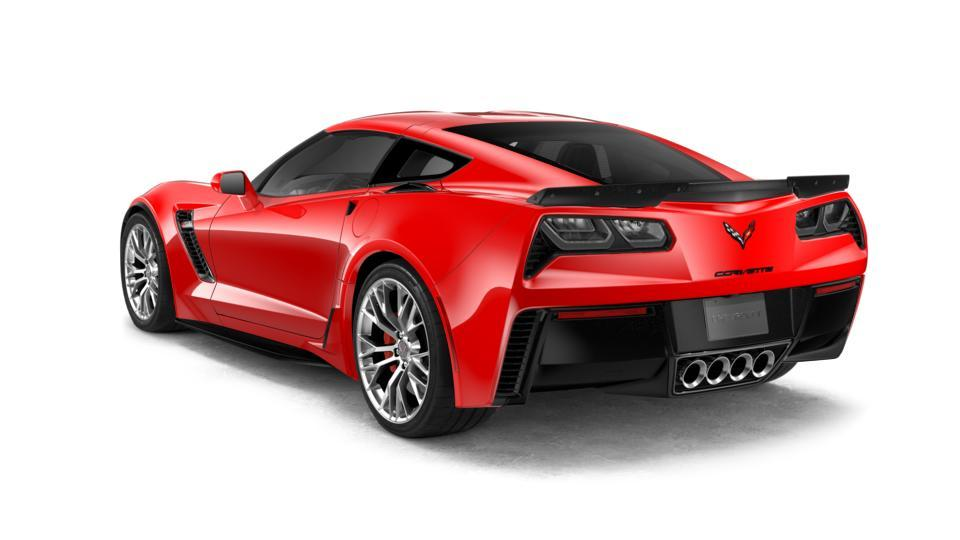 2018 Chevrolet Corvette Coupe Z06 1lz Torch Red 2d Coupe