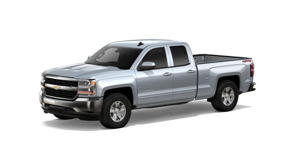 new truck 2018 silver ice chevrolet silverado 1500 double cab standard box 4 wheel drive lt for. Black Bedroom Furniture Sets. Home Design Ideas