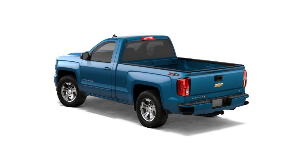 New 2018 Deep Ocean Blue Chevrolet Silverado 1500 Regular
