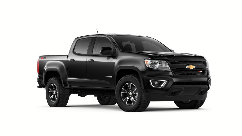 New 2018 Black Chevrolet Colorado Crew Cab Short Box 4