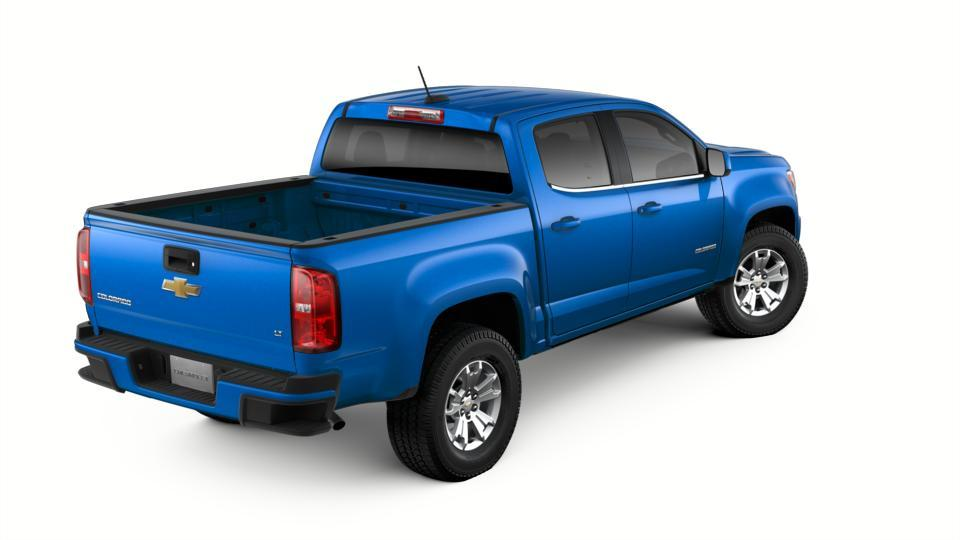 New 2018 Kinetic Blue Metallic Chevrolet Colorado Crew Cab