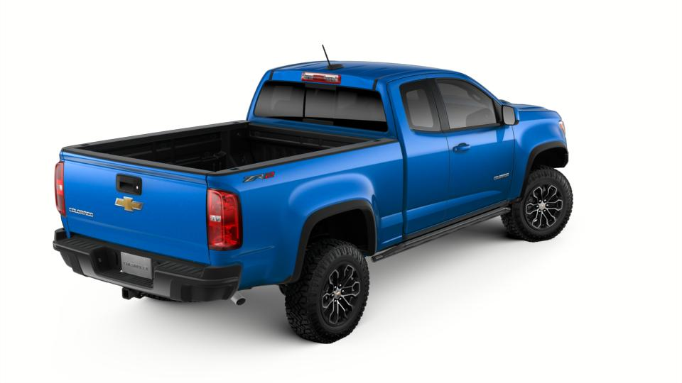 New 2018 Kinetic Blue Metallic Chevrolet Colorado Extended ...