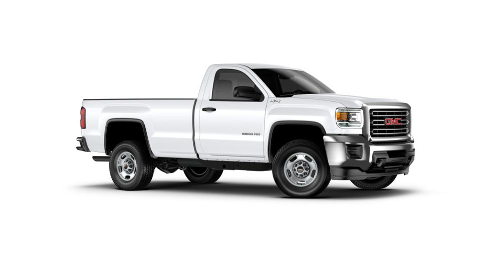 new white 2017 gmc sierra 2500hd regular cab long box 4 wheel drive for sale portsmouth nh. Black Bedroom Furniture Sets. Home Design Ideas
