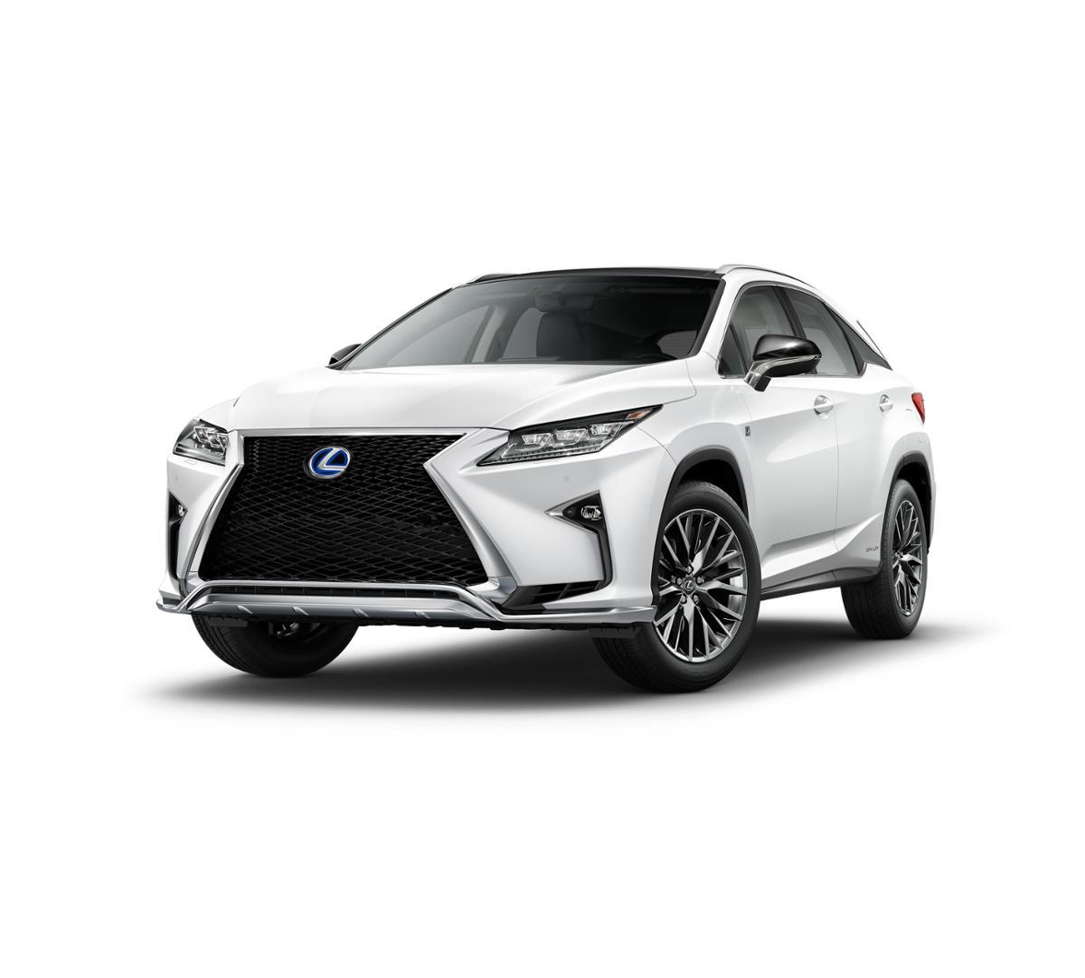 2017 Lexus RX 450h Vehicle Photo in Santa Monica, CA 90404