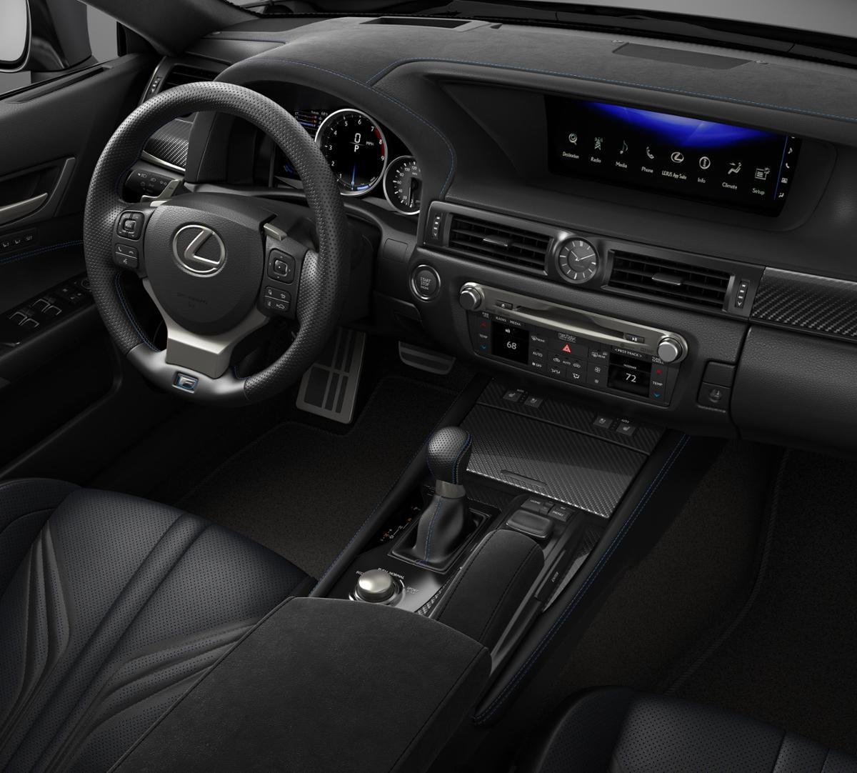 Lexus Gs For Sale: Nashville Ultrasonic Blue Mica 2018 Lexus GS F: New Car