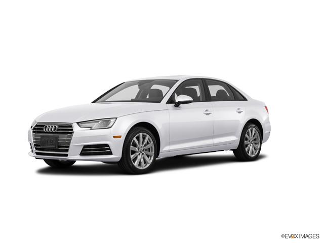Certified 2017 Audi A4 Glacier White Metallic: Car for Sale ...