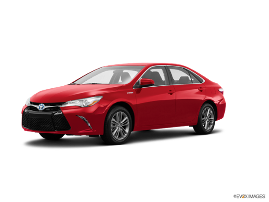 2016 Toyota Camry Hybrid in Ruby Flare Pearl