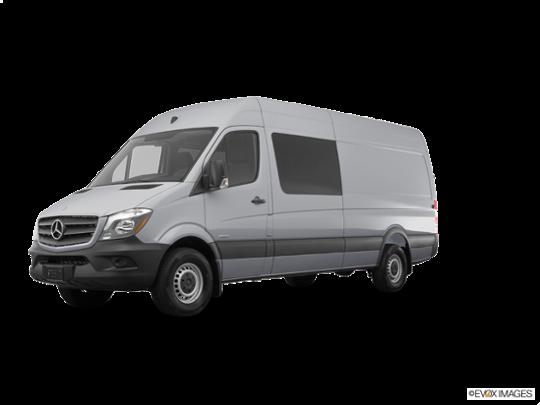 2016 Mercedes-Benz Sprinter Crew Vans in Pearl Silver Metallic