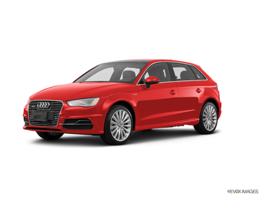 2016 Audi A3 e-tron in Misano Red Pearl Effect