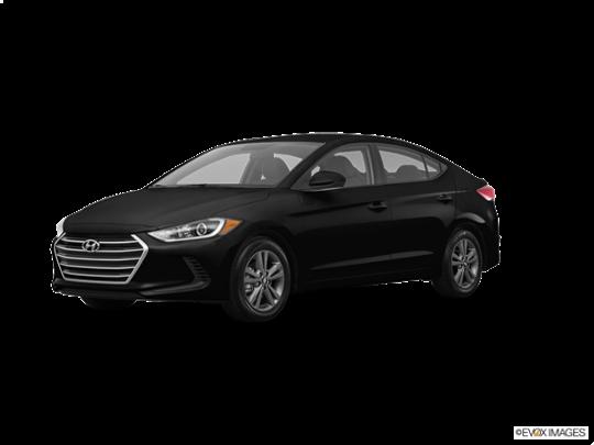 2017 Hyundai Elantra in Phantom Black