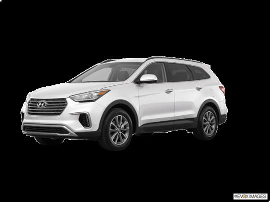 2017 Hyundai Santa Fe in Monaco White