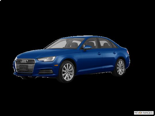 2017 Audi A4 in Scuba Blue Metallic