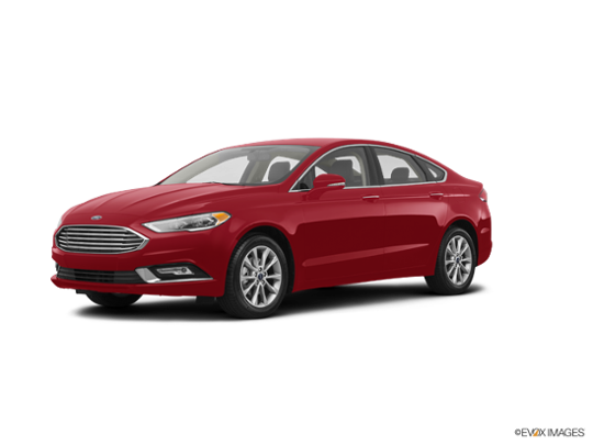 2017 Ford Fusion in Ruby Red Metallic Tinted Clearcoat