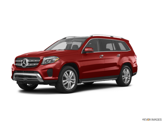 2017 Mercedes-Benz GLS in designo Cardinal Red Metallic