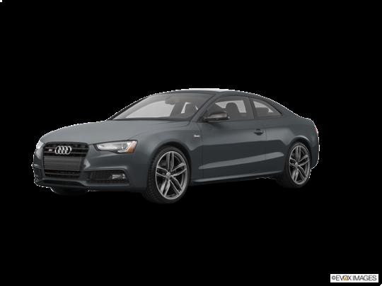 2016 Audi S5 in Daytona Gray Pearl Effect