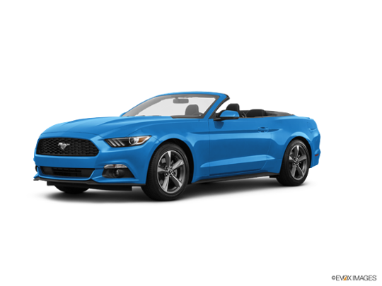 2017 Ford Mustang in Grabber Blue