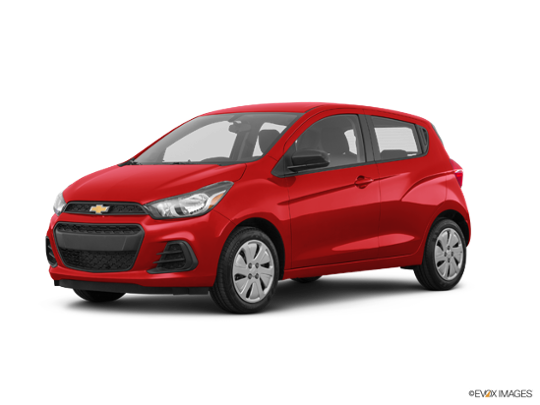 2017 Chevrolet Spark in Red Hot