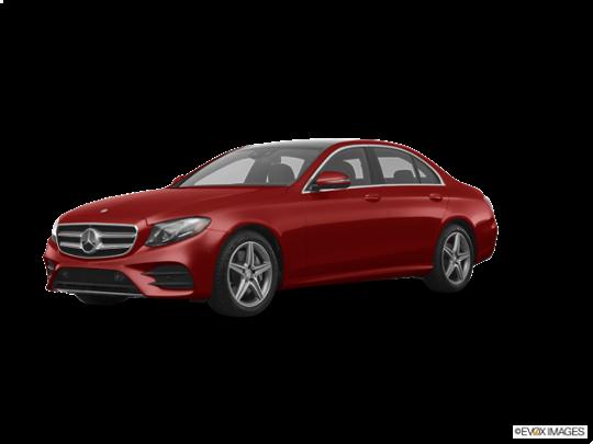 2017 Mercedes-Benz E-Class in designo Cardinal Red Metallic
