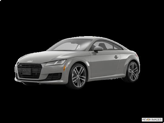 2017 Audi TT Coupe in Florett Silver Metallic