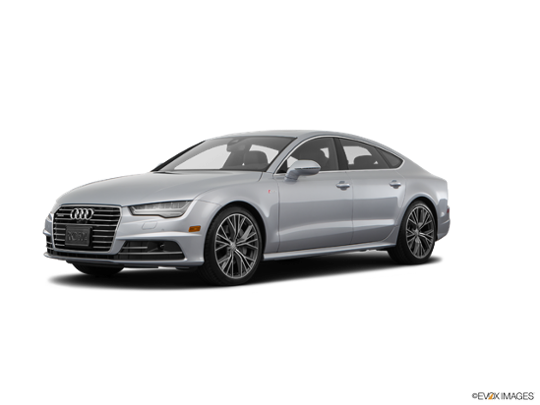 2017 Audi A7 in Florett Silver Metallic