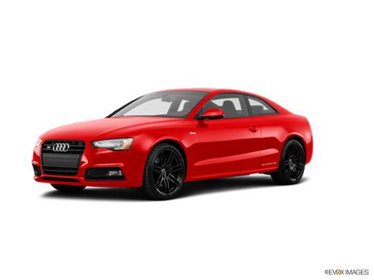 2017 Audi S5 Coupe in Misano Red Pearl Effect