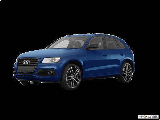 2017 Audi Q5 in Scuba Blue Metallic