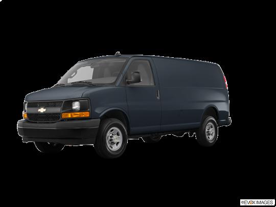 2017 Chevrolet Express Cargo Van in Cyber Gray Metallic