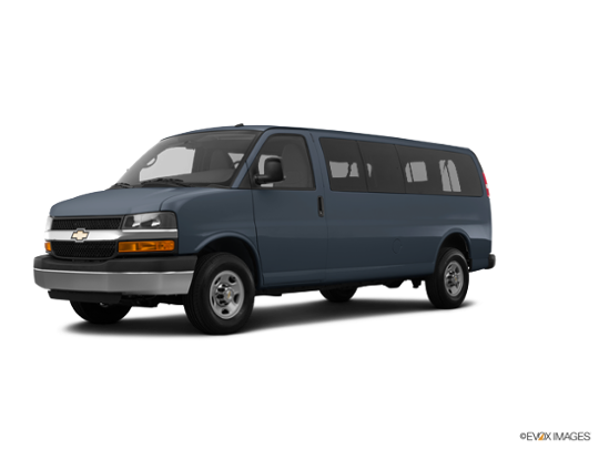 2017 Chevrolet Express Passenger in Cyber Gray Metallic