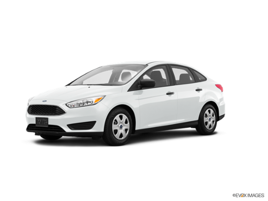 2017 Ford Focus in Oxford White