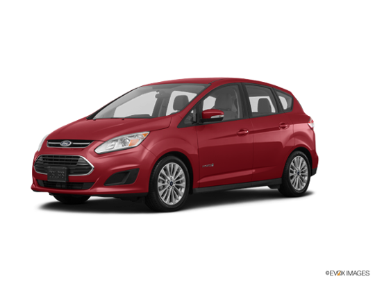 2017 Ford C-Max Hybrid in Ruby Red Metallic Tinted Clearcoat