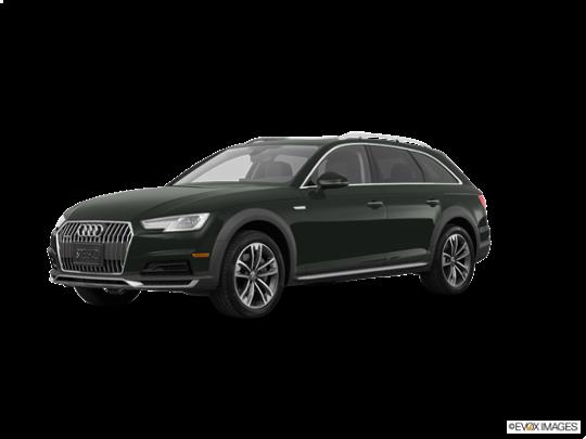 2017 Audi allroad in Gotland Green Metallic