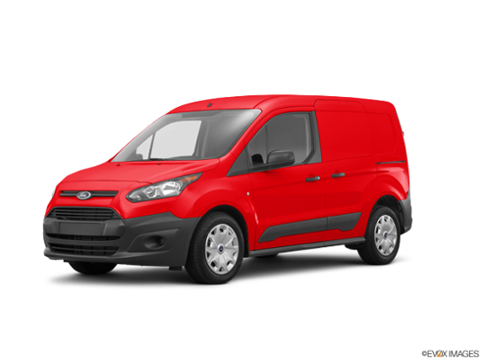 2017 Ford Transit Connect Van in Race Red