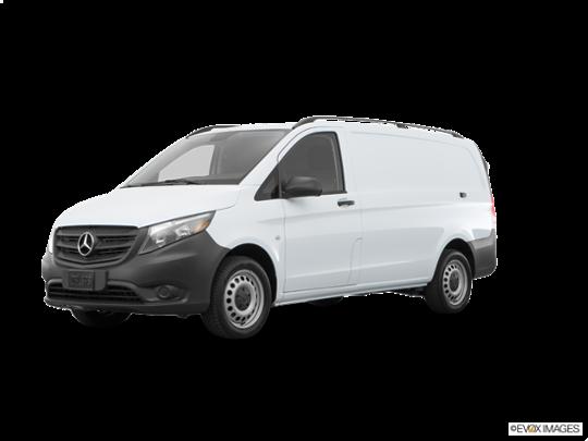 2017 Mercedes-Benz Metris Cargo Van in Arctic White