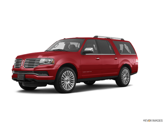 2017 LINCOLN Navigator L in Ruby Red Metallic Tinted Clearcoat