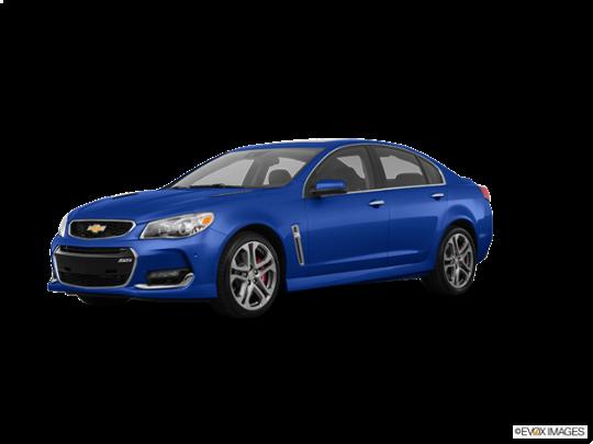 2017 Chevrolet SS in Slipstream Blue Metallic