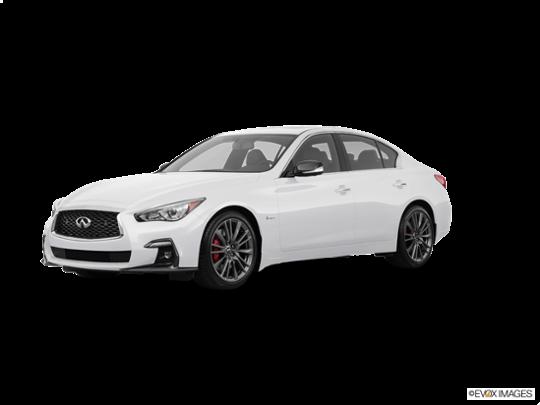 2018 INFINITI Q50 in Pure White