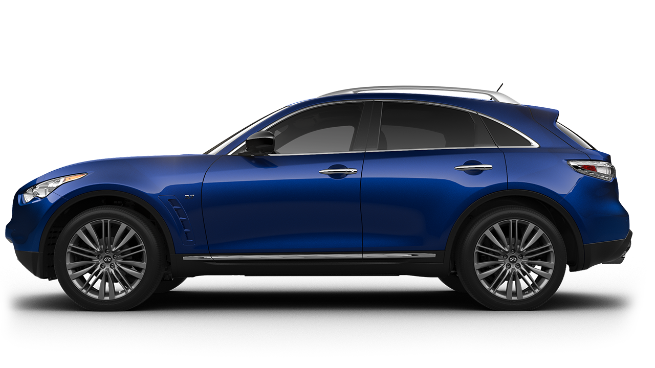 2017 Infiniti Qx70 Awd Suv In Iridium Blue Available In