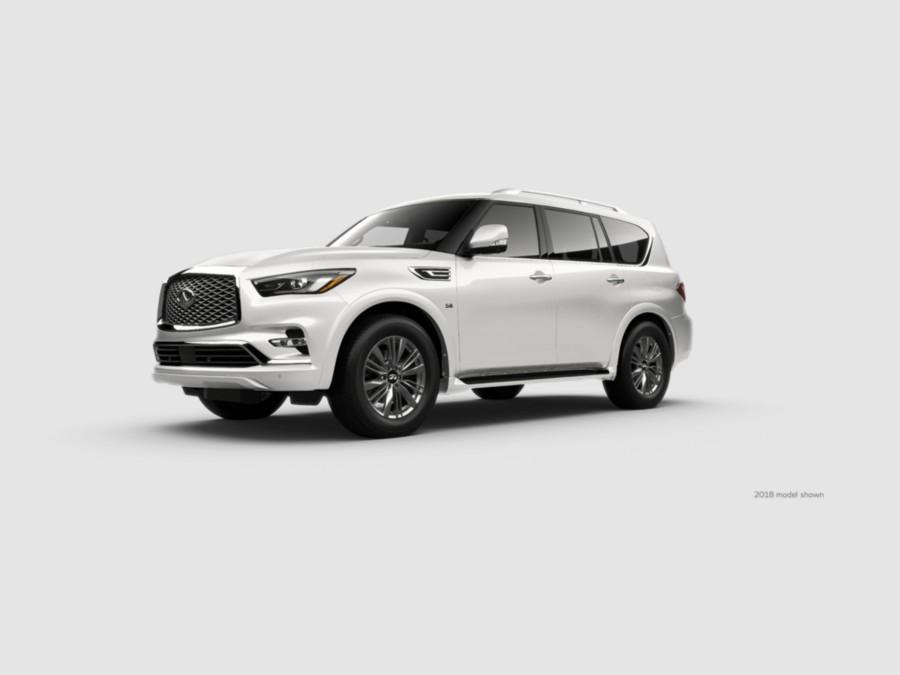QX80 LUXE Moonstone White