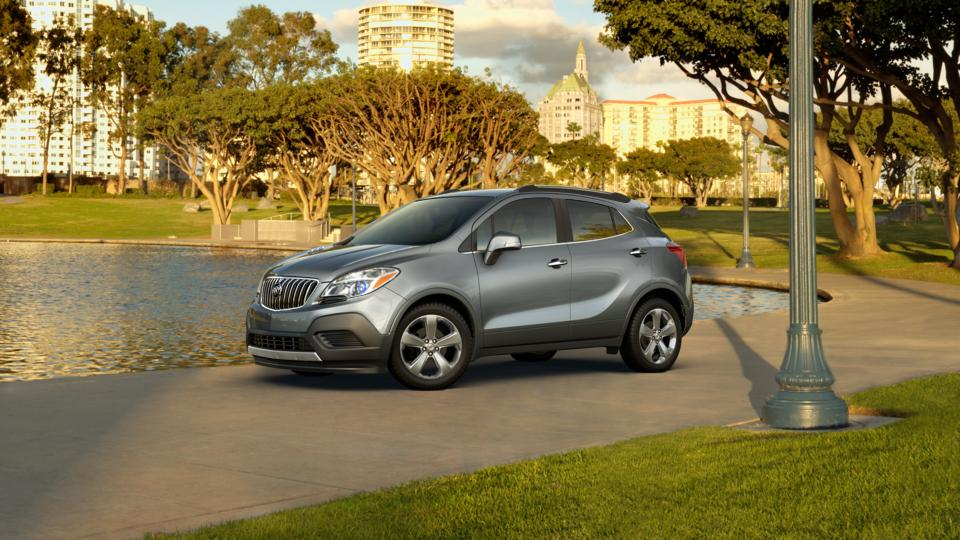 Certified Satin Steel Gray Metallic Buick Encore In