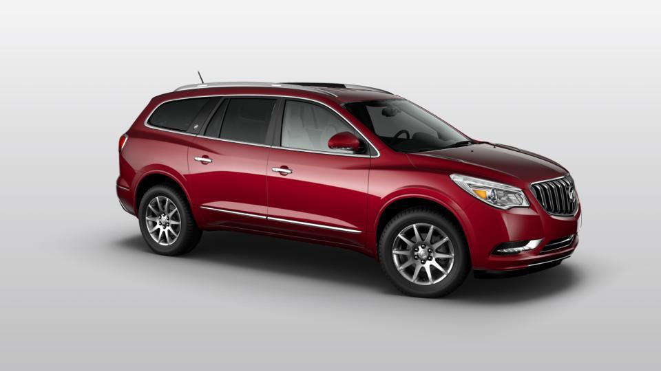 Edmonton, Leduc Crimson Red Tintcoat 2017 Buick Enclave: Certified Suv for Sale - U6660