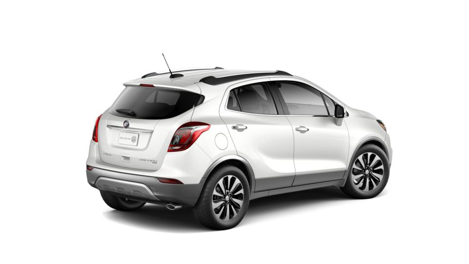 Used 2017 White Frost Tricoat Buick Encore Preferred Ii