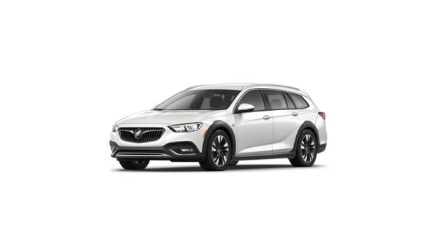 Plainfield White Frost 2019 Buick Regal Tourx New Suv For Sale