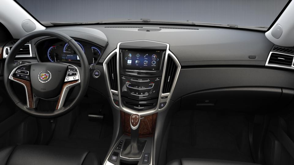 certified suv 2015 radiant silver metallic cadillac srx luxury collection for sale in fl. Black Bedroom Furniture Sets. Home Design Ideas